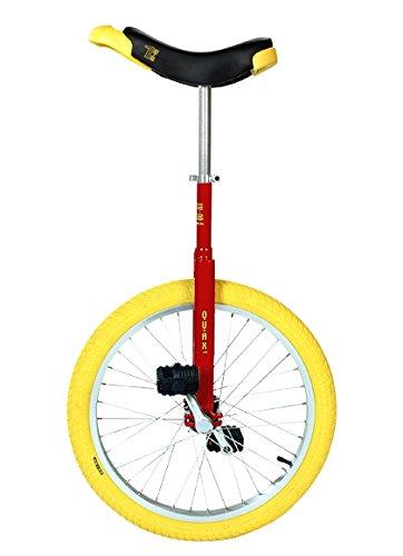 QU-AX Einrad 20 Zoll Radgröße in Allen Farben, Farbe:Chrom - 5