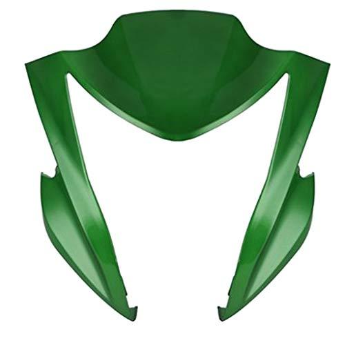 Almencla Motorrad Scheinwerfer Maske Verkleidungslicht Verkleidungs Lampshade Passt für Kawasaki ER6N 2012-201