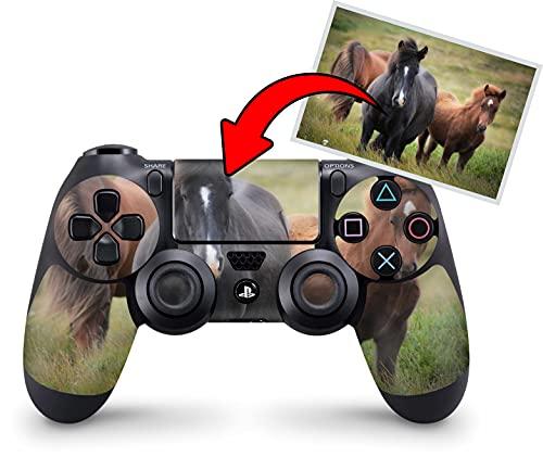 Skins4u personalisierbare Skin Designfolie für Sony Playstation 4 Controller - Dein Bild auf Deinem PS4 Controller - Individuelle PS4 Skins selber gestalten im Custom-Konfigurator