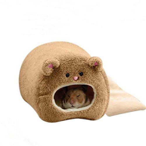 Chytaii Hamster - Hamaca de invierno cálida, hamaca para colgar y cama suave para ratón, hámster