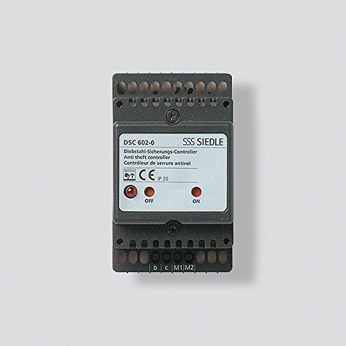 Siedle 2543095 Zubehör Diebstahlschutz Controller Einbau DSC 602-0