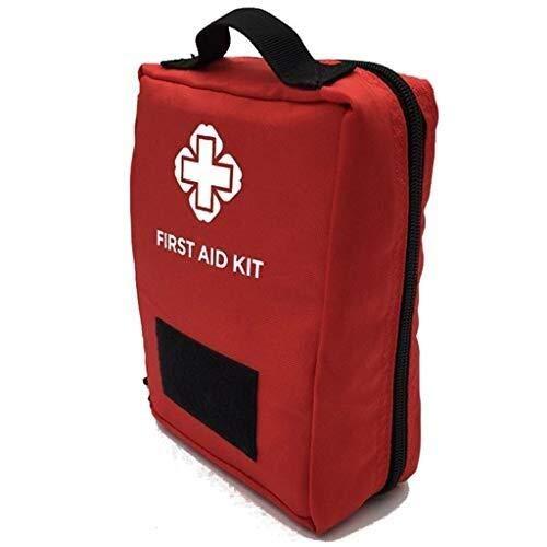 Busirsiz Equipos de primeros auxilios de emergencia exterior de la caja de múltiples funciones del recorrido del bolso médico, Kit de primeros auxilios de almacenamiento Bolsas de acoplamiento de la c