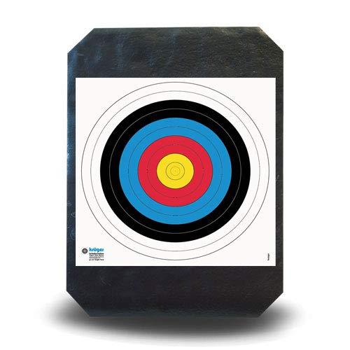 YATE Bogensport Zielscheibe Polimix R 80cm x 60cm 45 lbs für Indoor & Outdoor Waffensport Bogenschießscheibe Training Super leicht, einfaches Pfeile ziehen, sehr langlebig Foamscheibe Schaumscheibe