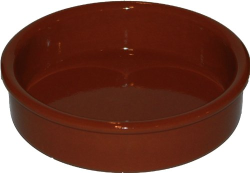 Amazing Cookware Fuente redonda de 15cm, una maravillosa pieza de cocina de terracota natural