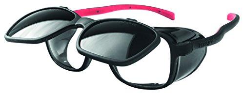 OPTOR 1095D7 Pegaso 1095D7-Gafas Proteccion Gama Modelo Duplex Soldadura DIN 7, Negro Y Rojo, L