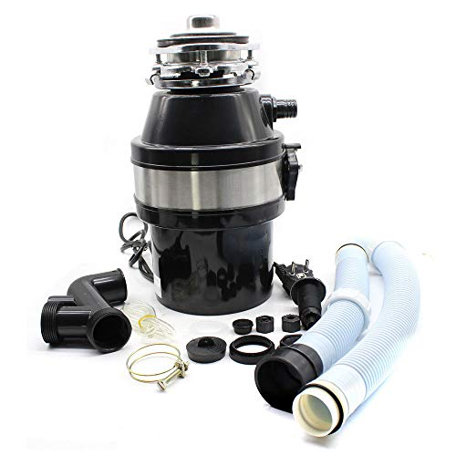 1L Küchenabfallentsorger Küchenabfallzerkleinerer Speisehäcksler 370 Watt Müllschlucker /-zerkleinerer DHL