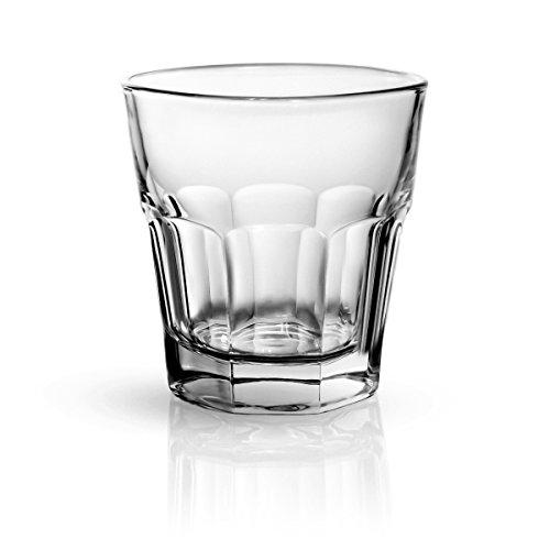 Sixby Whisky - Wasser - Saft Gläser Collection (Marocco 23cl, 12 Stück)