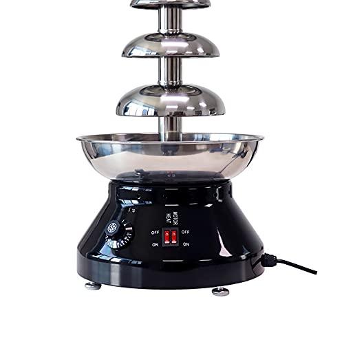 Máquina De Fuente De Chocolate Eléctrica De 5 Capas De Acero Inoxidable, Máquina De Fuente De Chocolate, Máquina De Olla Caliente para Chocolate, Decoración De Fiesta De Cumpleaños