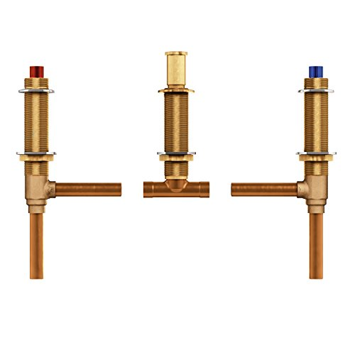 Moen 4792 M-PACT Valve Two Handle 3-Hole Roman Tub Valve Adjustable 1/2-Inch CC Connection, N/A