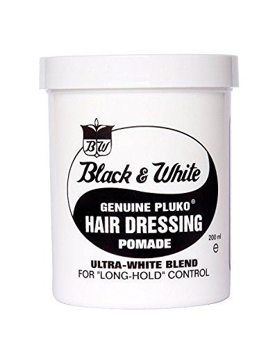 Black & White HAIR DRESSING POMADE 7.5oz