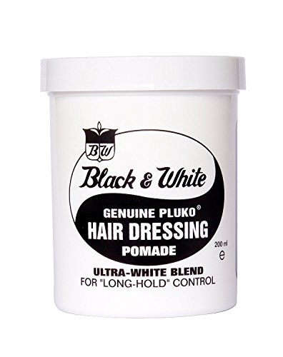 Black & White HAIR DRESSING POMADE 7.5oz
