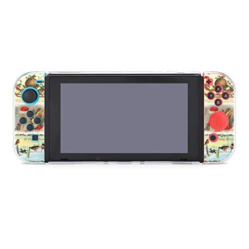 Funda protectora para Nintendo Switch, diseño victoriano vintage de Navidad, funda duradera para Nintendo Switch y Joy Con