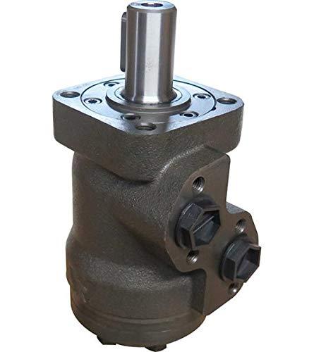 Hydraulikmotor M+S MPQ_COD, Schluckvolumen wählbar von 25 cm3/U – 630 cm3/U, Anschlüsse (seitlich): G 1/2'', Welle: Ø 1'' zylindrisch Größe 80 ccm