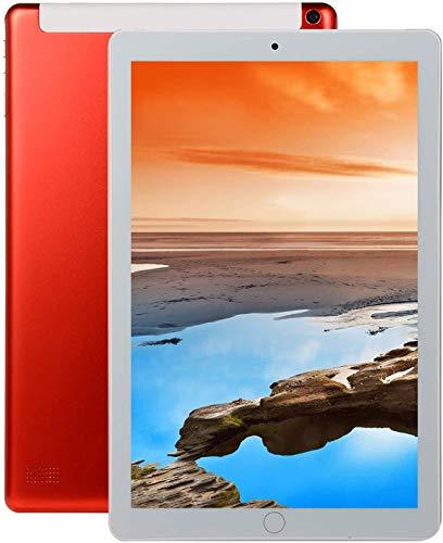 Für alles dankbar 10,1 Zoll RAM 4 GB ROM 64 GB 1960 * 1080 IPS-Bildschirmtablett 10 Octa Core MT6797 4G Dual-SIM-Kartentelefon 4G Call WiFi Tablets PC(Color:rot)
