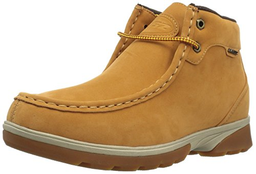 Lugz Men's Zeo Moc Mid Fashion Boot, Golden Wheat/Cream/bark/Gum, 9.5 D US