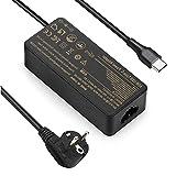 VUOHOEG 65W USB Tipo C Cargador para portátil Lenovo Yoga 720 730 910 920 s730 730s, ThinkPad X1 Carbon T480 T580 T490 T590 Chromebook 100e 300e 500e, HP, DELL, Acer, ASUS Type C Cargadore Adaptadore