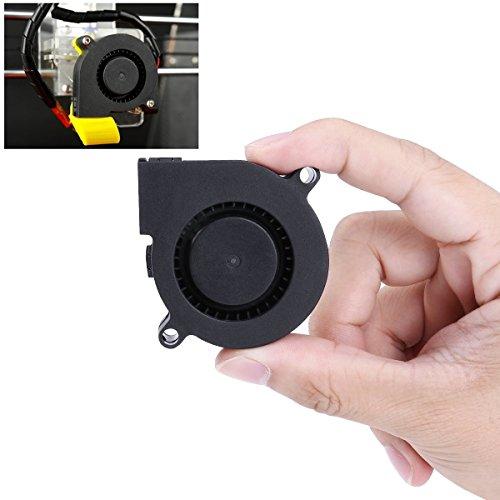 UEETEK DC 24V Lüfter für 3D Drucker, Turbine Gebläse Heizkörper Lüfter, Ausgezeichnet für die Kühlung Kühlkörper auf Hot End, 3D Drucker Zubehör