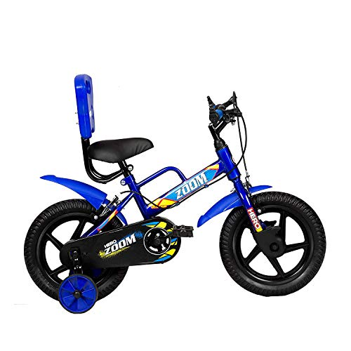 Hero Zoom 14T Single Speed Kids Cycles (Color: Blue), wheel size: 14 inch, frame size: 9 inch