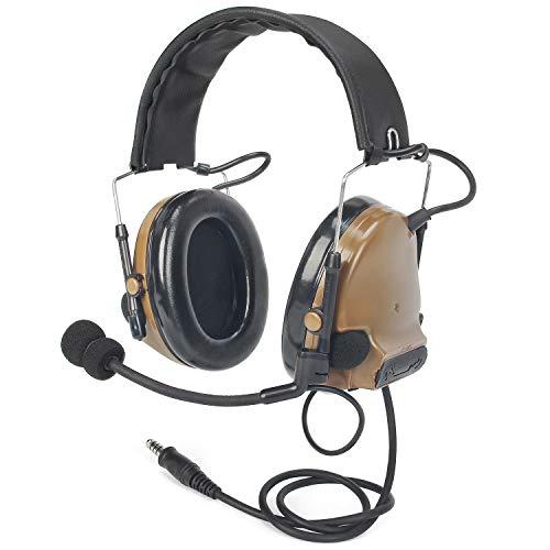 【Tienda Oficial de Z-TAC】 zComtac III (zComtac II actualizado) Z-Tactical Headset Colección de Sonido con cancelación de Ruido Insonorización Z051-CB