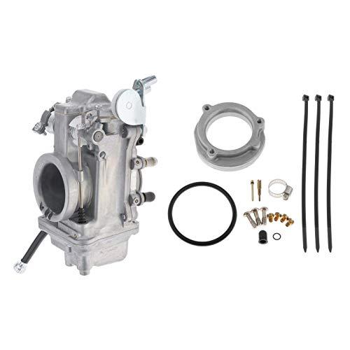 Nuevo carburador de aluminio, soporte de carburador, pieza de repuesto del motor, apto para carburador HSR45 reemplaza