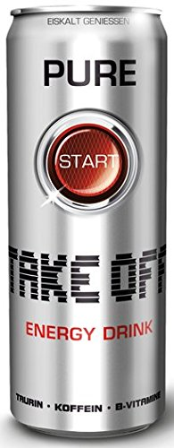 Take Off Energy Drink - Pure, 24er Pack, EINWEG (24 x 330ml)