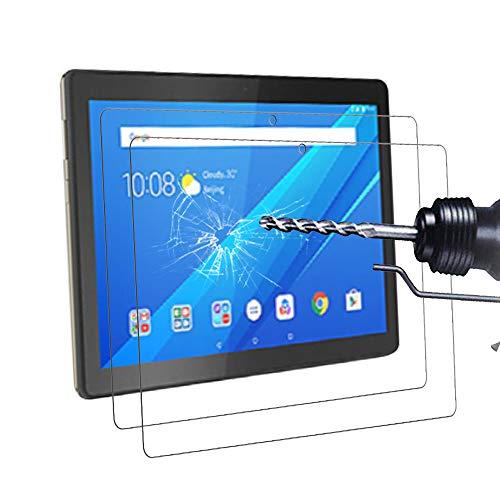 Didisky [ 2 Pezzi Vetro Temperato per Lenovo Tab M10 10.1 Pollici Pellicola Protettiva, [Ultra-Clear] [Tocco Morbido ] Anti Graffi, Facile da Pulire, Facile da installare