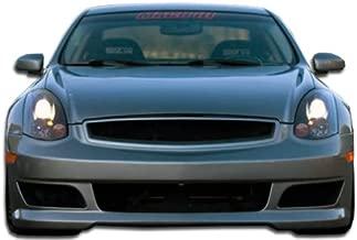 Brightt Duraflex ED-TUE-340 C-Sport Front Bumper Cover - 1 Piece Body Kit - Compatible With G Coupe 2003-2007