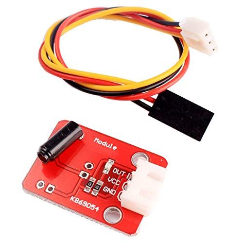Luoshan Módulo de Interruptor del Sensor de vibración con línea Dupont de 3 Pines for Arduino