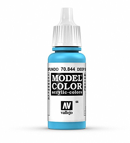 Vallejo, Model Color, Acrylfarbe, 17 ml himmelblau - deep sky blue