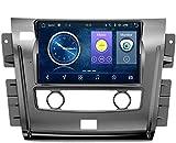 Nav Compatible con Nissan Tour 2018 Sistema de navegación GPS para automóvil Navegador satelital Reproductor de DVD Rastreador Bluetooth wifi Estéreo Auto Radio Pantalla táctil Cámara trasera (Quad C
