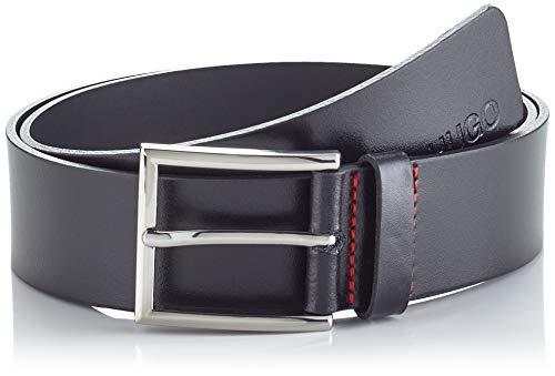 HUGO Mens Giaspo_Sz40 Belt, Black (1), 120