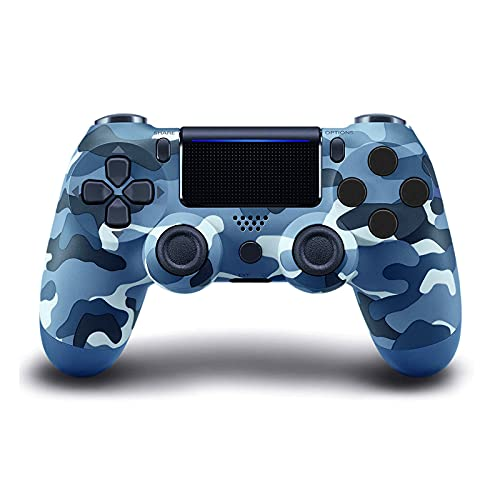 ADHLEK PS-4 Wireless Controller,with Dual Vibration Camo Game Joystick,Compatible with Playstation 4/Slim/Pro Console,with Charging Cable