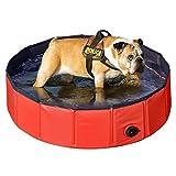 Yaheetech Foldable PVC Pet Swimming Pool...
