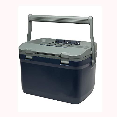 NXYJD Pesca al Aire Libre de Gran Capacidad refrigerador del Hielo 15L Comercial Coche pequeño refrigerador fácil Lleva al Aire más frío (Color : A)