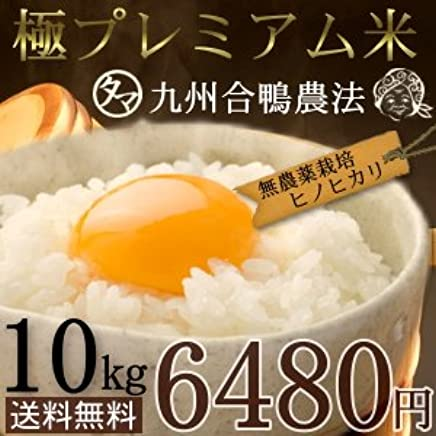 南九州プレミアム『合鴨農法米』10kg (合鴨農薬未使用栽培) 30年度産 精白米10kg