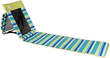 Coleman Beach Ground Mat in Citrus Stripe