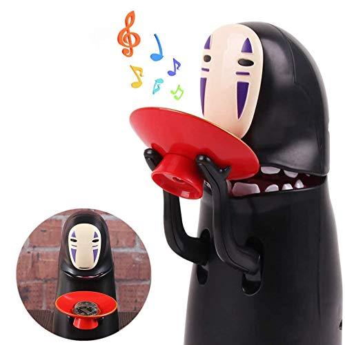 Hucha de la moneda del hombre de la caja de la moneda de Comer automático Hucha con la música para el regalo de los niños