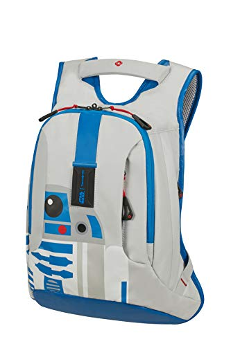 Samsonite Paradiver Light Mochila Infantil, S+ (42 cm 10 L), Multicolor (R2D2 Blue)