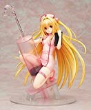 CJYVV 1/7 Scale Sexy Girl Anime to Love Ru Darkness Golden Darkness Konjiki No Yami Nurse Ver. PVC Anime Statues Collectibles Toy for Men