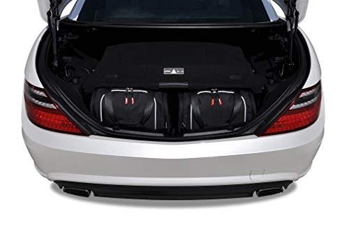 KJUST Reisetaschen 2 STK Set kompatibel mit Mercedes-Benz SLK R172 2011-2015