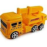 Pull Back Car 4pcs / Set Vehículo Camión Modelo de automóvil Plástico Pull Back Car Mixer Excavadora Modelo de ingeniería Coches de Juguete para niños Niños Niños Regalo