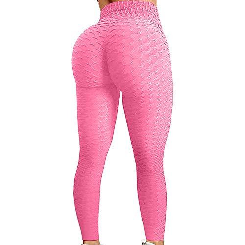 TWIOIOVE Leggings de Sport Femme Anti-Cellulite Pantalon de Fitness Haute Slim Push Up Butt Lifter Pants Yoga Pour Jogging Estiramiento Yoga y Pilates
