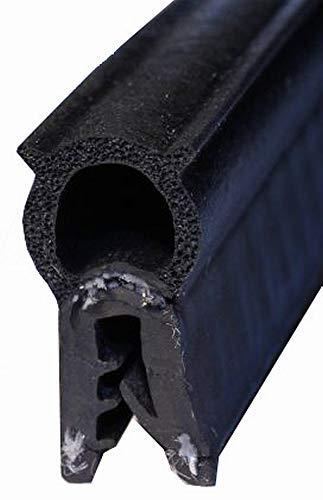 eutras Protection des Bords 1184/Pince profil passepoil ks1168 1/ /Serrage 4,5/mm 20/m Noir