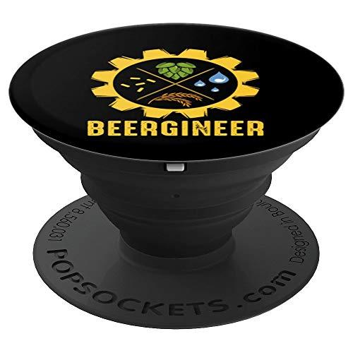 Beergineer Brauer Hobby Selbstgebrautes Bier Liebhaber - PopSockets Ausziehbarer Sockel und Griff für Smartphones und Tablets