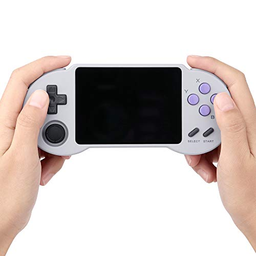 Video Game Console -PocketGO S30- Portable Handheld Retro Game Players Progress Save/Load MicroSD Card External Colorful Screen (S30)