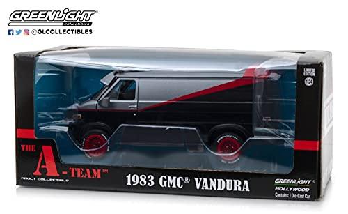 Greenlight The A team 84072, Furgoneta 1983 GMC Vandura, escala 1:24, Colores aleatorias