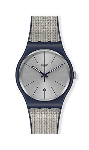[スウォッチ] 腕時計 GREY CORD SUON402 正規輸入品