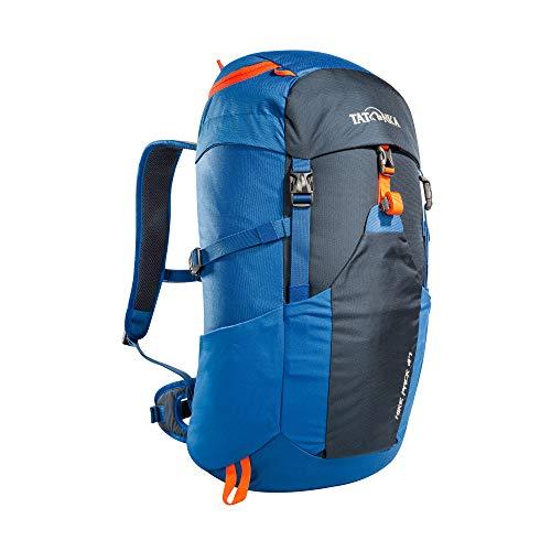 Tatonka Wanderrucksack Hike Pack 27l mit Rückenbelüftung und Regenschutz - Leichter, bequemer Rucksack zum Wandern für Damen und Herren - 27 Liter - blau