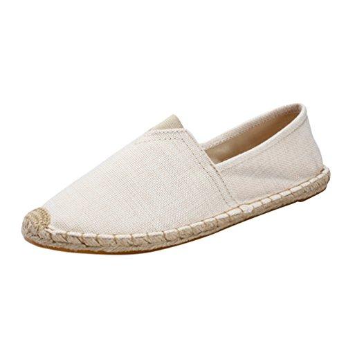 Dooxii Unisex Uomo Donna Durevole Casuale Loafers Scarpe Moda Tinta Unita Espadrillas Basse Scarpe...