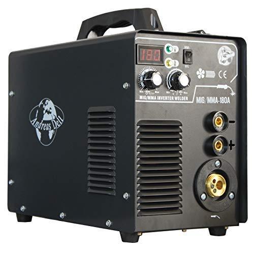 MIG MAG/MMA - 180 IGBT Inverter 230V Schweißgerät Schweissgerät Schweißschild/hammer Zubehör
